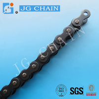 DIN standard industrial 16a driving chain metal china blue roller chain