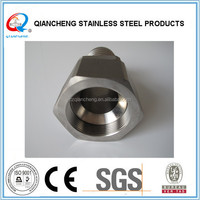 ss304 1/2 inch high quality stainless steel crimp type hose fitting