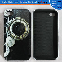 Upscale Camera Pattern TPU+PC Combo Case For Motorola X1032 For Moto G Hard Case