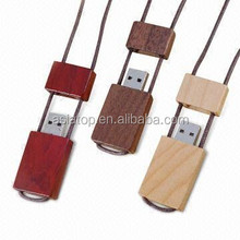 2015 high quality 64gb wooden usb pendrive