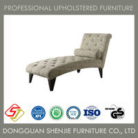 European style leisure sofa chair, chaise for hotel, sofa louge
