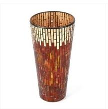 North American fashion mosaic glass vase home decoration