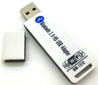 2 in 1 USB2.0 USB 2.0 to Bluetooth v3.0 3.0 + WiFi 150Mbps 150M Wireless LAN Network Ethernet Card Adapter Converter Dongle