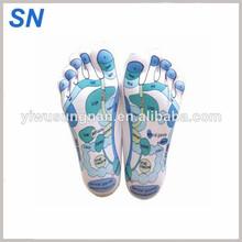 All kinds of language english spain massage Reflexology Zones Marked Reflexology Socks hosiery