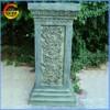 Rose designed fiberstone/ fiberglass flower pot stand roman column