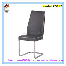 dining room chair hotel luxury leather high back dining chair for sale C5037