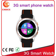 super andriod watch 3g gps wifi bluetooth 4.4 with waterproof ip67 factory