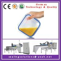 Grooved food grade silicone gasket for food package
