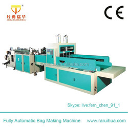 Fully Automatic Line Shopping Bags Sealing and Cutting Machine