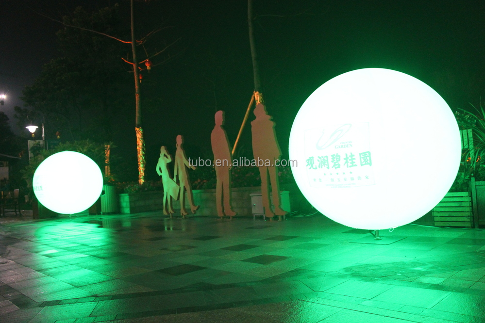Led Light Advertising Balloon For Event,Pvc Inflatable ...
