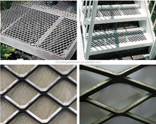 2015 low carbon/galvanized/Aluminum/Stainless Steel expanded wire mesh