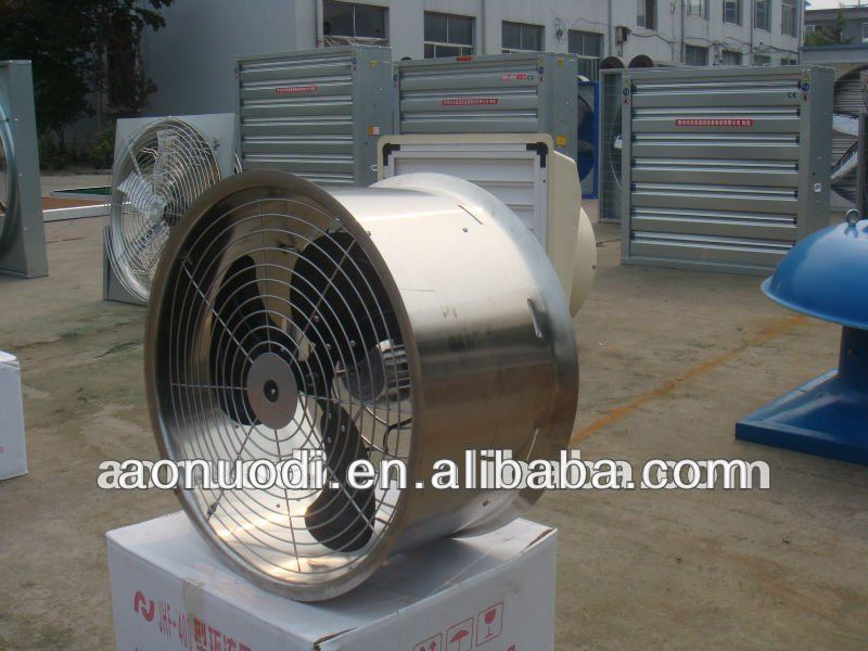 Greenhouse Air Circulation : Air circulation fan for greenhouse poultry industrial