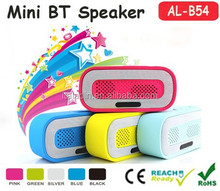 2015 new china wholesale portable mobile phone mini bluetooth speaker with usb rechargeable am fm radio