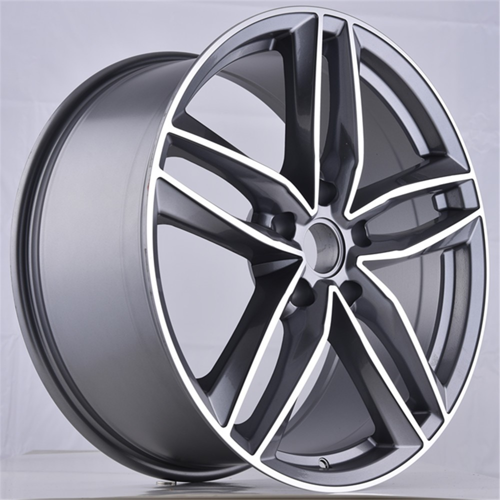 Audi European Delivery >> Jwl Via Size 17 18 19 20 Inch Gunmetal Machined Replica Alloy Wheel Aluminum Wheel - Buy Car ...