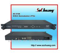 DVB-C/ QAM RF Converter /Demodulator Cable Digital TV Headend