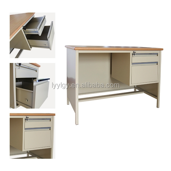 Beautiful Depot Office Desk Minimal Design Desk With One Drawer Made From Pine MDF With Matt Black Desk Top And Metal Frame, &163229 From Madecom Product Code