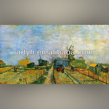 Famous art colorful contemporary art paintings by van gogh