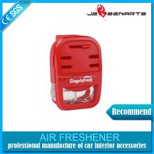 Hot sale car vent clips air freshener , Customed design hanging car air freshener
