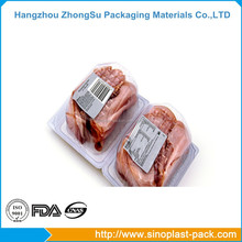 Barrier film for packaging cool fresh meat