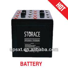 solar battery 2v 2000ah for wind energy system (SRD2000-2)