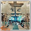 2015 new product white tree wedding decor white decorative tree branch ficus banyan snowy trees plastic leaves party decor