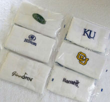 100% cotton with embroidered logo activity gift towel