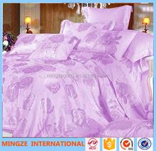 High quality soft embroidery crib beding set