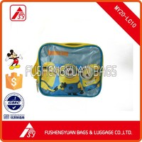 Minions shoulder bag with satin material