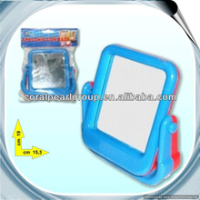 Two Solid Colors Square Shape Plastic Mirror