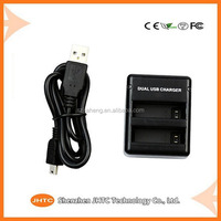 Top quality wholesale price Rapid Dual Charger for GoPro Hero 4 and GoPro AHDBT-401