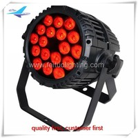 Free shipping (1 piece) China supplier ip65 18x15w 5in1 led par 64 light can,ip65 led par light