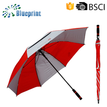Open golf umbrella,strong windproof golf umbrella,umbrella golf