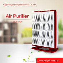 Portable Installation and hepa type home use air purifier for odor treatment