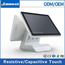 Elegant Dual Touch Screen POS System for Fashion Clothes Shops