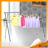 Mini Foldable wing multi-purpose adjustable stainless steel indoor outdoor laundry garment clothes airer rack