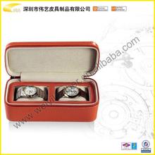 Facoty Make PU Leather Watch Box Watch Packaging Box Fashion Custom Leather Case Gift Box Watch Case