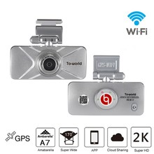 Super HD WiFi Car Camera with mobile phone APP Control G-sensor