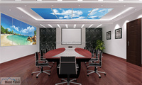 innovative nature scene office or residential LED sky ceiling light