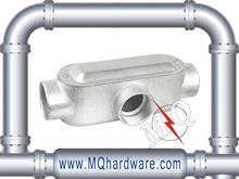 Electrical Metallic Tubing T Set Screw Type Aluminum Conduit Body