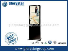 GstarLED/LCD 42 inch mall center/City center stand Alone Transparent LCD display,totem advertising display lcd multimedia kiosk