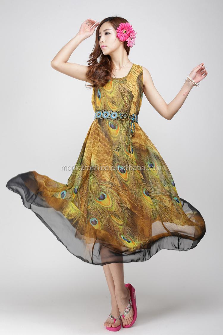 robe de mari e plus la taille hawaiian peinture