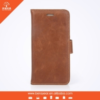 Removable phone case PU flip Leather mobile phone case wallet for iphone 6