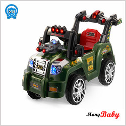 2015 hot sale off-road vehicle flash light electric car ride on rechargeable car