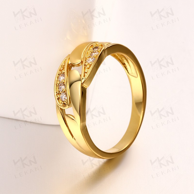 new hong kong gold plated jewelry wedding ring wholesale