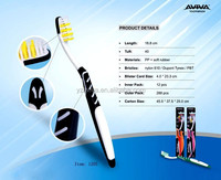 professional manufacturing best selling nylon adult toothbrush