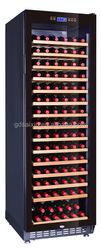 Freestanding installation 166bottles tall wine refrigerator