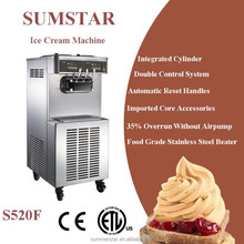 Sumstar S520 ice cream machinery/ commercial ice cream maker/ soft ice cream machine maker