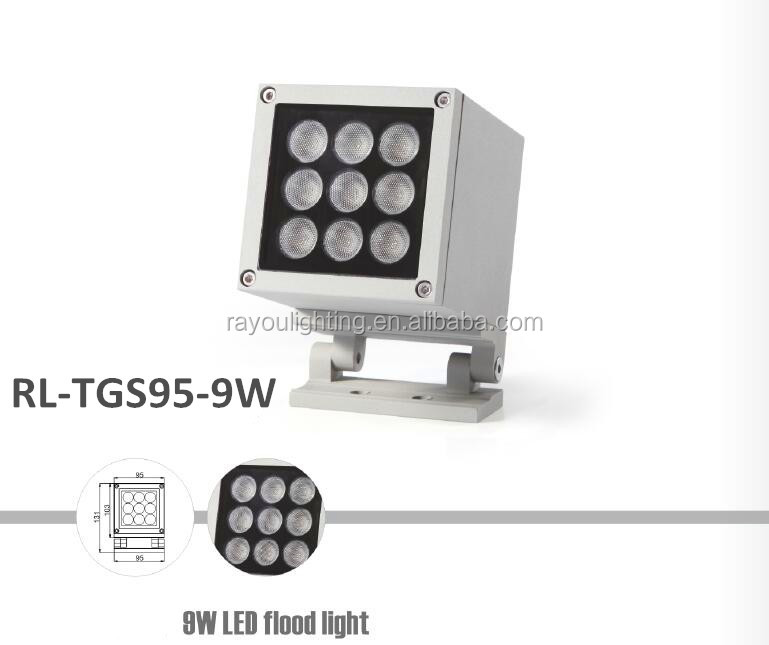 RL-TGS95-9W-ip65-rgb-led-projector