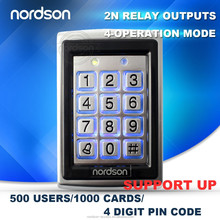 2015 Nordson Best security system NT-120 with Fingerprint keypad access control system