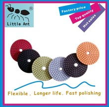 size 3inch straight teeth ,water polishing pads .accept mix orders